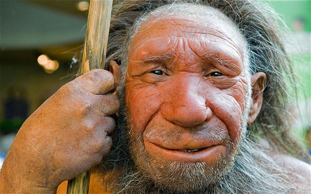 Kiss me, I'm Neanderthal