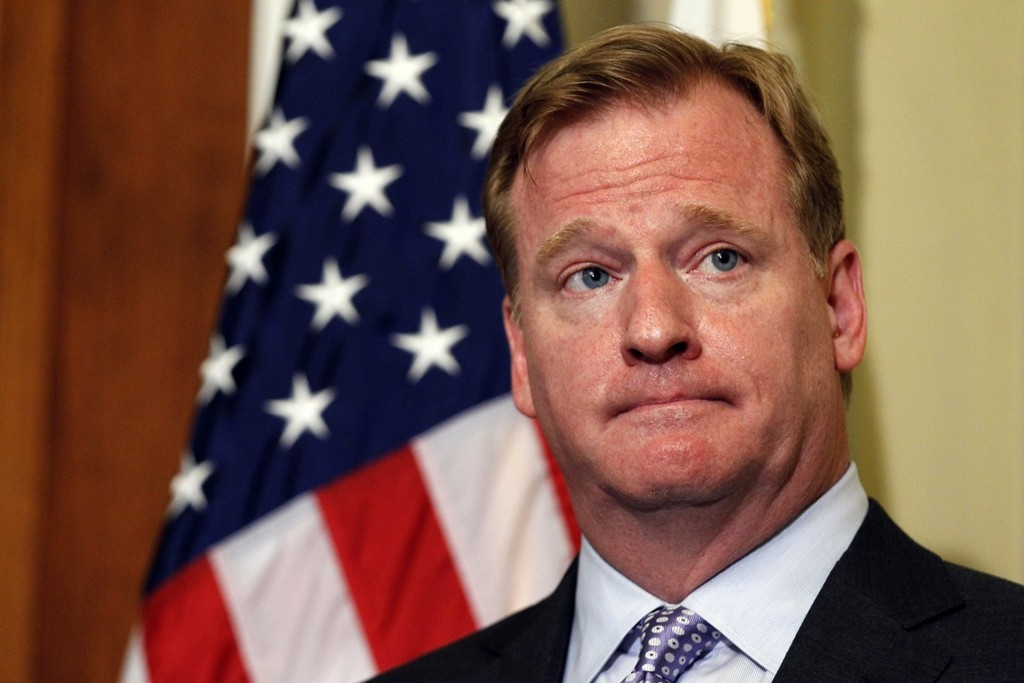 Roger Goodell  (Photo: Alex Brandon/Associated Press)