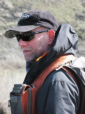 Wildlife biologist Rob Wielgus  (Photo: Kay Morris)