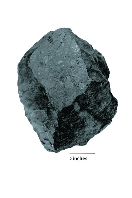 The Weston meteorite.